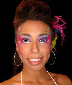 body/face painting Seminole/Tampa Florida